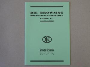 manuel d'utilisation FN Browning High Power